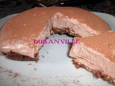 DukanVille Ricette Dukan: CHEESECAKE AL CACAO