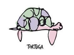 Tortuga, Pantuás, Diseño Gráfico, Elena Povo