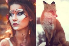 No tutorial for the fox, but it's cute! A little different than the rest... I like the defined cheeks