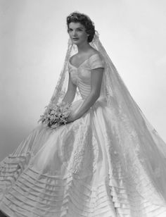 Jackie Kennedy. Nothing beats an old wedding dress.