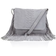 Grey Fringe Bag Fringe Handbags Gray Handbags Grey Bag And Lipsy Bag