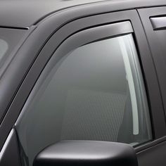 WeatherTech 80503 Series Dark Smoke Front Side Window Deflectors - Side Window Deflectors WeatherTech(R) Side Window Deflectors, offer fresh air enjoyment with an original equipment look, installing within the window channel. They are crafted from the finest 3mm acrylic material available. Installation is quick and easy, with no exterior tape needed. WeatherTech(R) Side Window Deflectors are precision-machined to perfectly fit your vehicle's window channel. These low profile window…