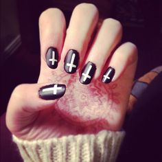 Fotos de uñas color negro – Black Nails – 45 Ejemplos   Decoración de Uñas - Manicura y NailArt
