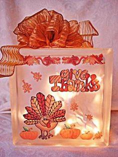 Glass Block decoration by monique