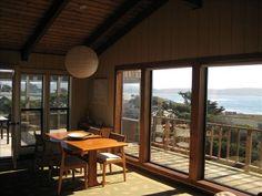 Scandinavian Modern Beach House-Flip Flops to the Beach!  Like the light fixture