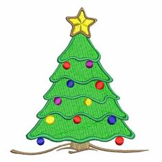BN Christmas Tree Machine Embroidery Design 4X4 #MachineEmbroidery #decoration #ornament #christmas #holiday #embroidery Embroidery Software, Custom Embroidery, Embroidery Thread, Machine Embroidery Designs, Christmas Tree, Christmas Ornaments, Handmade Items, Handmade Gifts, One Design