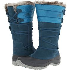Weather-proof shoes are a must. Weary of slipping on ice? Go with actual snow boots.