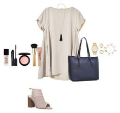 """Untitled #179"" by ablrichh on Polyvore featuring Carvela, NARS Cosmetics, Smashbox, Dasein, MAC Cosmetics, Kate Spade, tarte, Too Faced Cosmetics, Oscar de la Renta and Tory Burch"