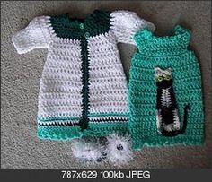 CAT NAP: www.crochetville  free pattern, AG dolls