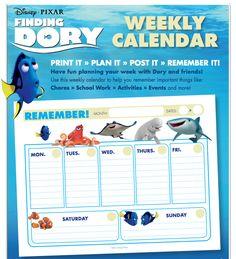 Finding Dory Printab