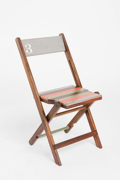Concert Folding Chair - Urban Outfitter #chair #foldingchair #urbanoutfitters