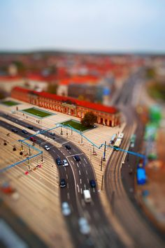 Tilt-shift photography is the coolest thing ever