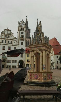 Oschatz, Germany, fontain