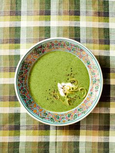 This lower-sodium soup, packed with broccoli and spinach, is an easy and filling meal.