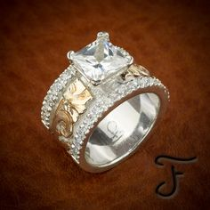 Browse a full inventory of western jewelry online. Discover handmade artisan jewelry, western rings, and one-of-a-kind items. Western Rings, Western Jewelry, Western Engagement Rings, Western Wedding Rings, Diamond Jewelry, Jewelry Rings, Fine Jewelry, Jewellery Uk, Jewellery Designs