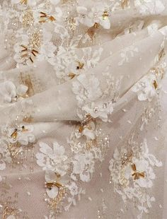 New Embroidery Wedding Dress Haute Couture Ana Rosa Ideas Couture Details, Fashion Details, Dior Haute Couture, Lesage, Beauty And The Beast, Christian Dior, Creations, Wedding Dresses, Pretty