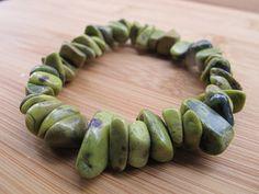 Stichtite Serpentine Bracelet by SheEarth on Etsy, $13.00