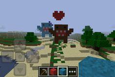 I made domos on mincraft