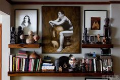 An Eclectic Home in Manila ( interior detail ) - Bobby Gopiao Philippines Home - Masculine Interior, Turbulence Deco, Interior Decorating, Interior Design, Decorating Ideas, Hearth And Home, Apartment Design, Elle Decor, Living Room Bedroom