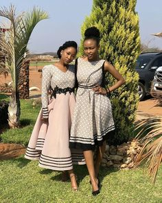Latest African Fashion Dresses, African Dresses For Women, African Print Dresses, African Print Fashion, South African Traditional Dresses, Traditional Outfits, Traditional Wedding, African Wedding Attire, African Attire