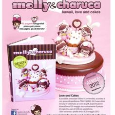 3 Molly  Charuca - Kawaii, love an cakes 3 10 Progetti fotografati passo per passo 200 pagine, più di 800 foto! at the Shopping Mall, € 20,00    I want this book!!!