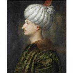 Portret al lui Soliman Magnificul, tânăr, realizat de Tizian http://vacantierul.ro/turcia-istanbul-suleyman-magnificul-bijuterii/