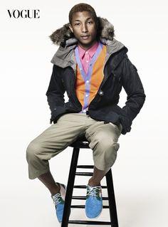 Pharrell for American Vogue image 679 VOG 02B BJ PHARRELL WILLIAMS 011