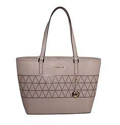 e0cc6f108a81 nice MICHAEL Michael Kors Women s Jet Set Travel Carry All Medium TOTE  Leather Handbag Michael Kors
