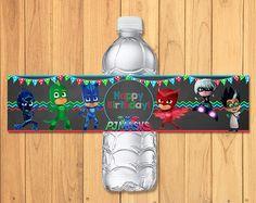 Pj Masks Cupcake Toppers Chalkboard Pj Masks by SometimesPie