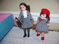 Mommee and Me Madame Alexander doll set by danishjane on Etsy
