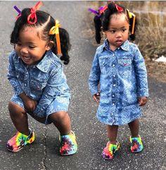 For Kids Fashion Hair Styles Black Baby Girls, Cute Black Babies, Beautiful Black Babies, Cute Baby Girl, Cute Babies, Cute Kids Fashion, Baby Girl Fashion, Toddler Fashion, Fashion Hair