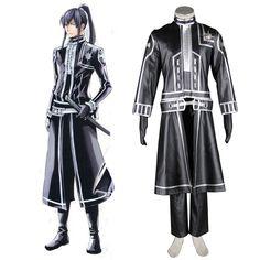D.Gray-man Yu Kanda 2ND Cosplay Costumes