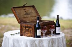 Wine Box and Love Letter Ceremony – Prior to the wedding, the bride and groom write a love letter to each other. The box will be opened on the chosen anniversary date.