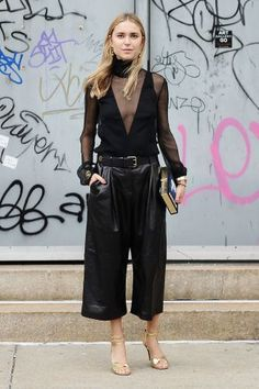 The Ultimate Street Style Stars Of 2015 #refinery29  http://www.refinery29.com/2015/12/100239/best-dressed-street-style-stars-2015#slide-8  Pernille TeisbaekIf you're not familiar with Danish It Girl Pernille Teisbaek from cult fashion blog Look De Pernille, go ahead and educate yourself. Teisbaek combines accessible hits from Ganni and H&M with Céline and Ac...