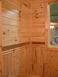 Pine Car Siding Rec Room Remodel Interior Basement