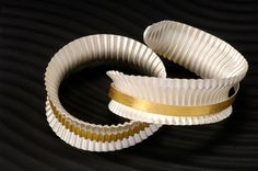 Felicity Peters wave bangles