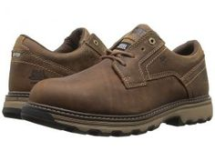 Caterpillar Tyndall ESD Steel Toe (Dark Beige) Men's Lace up casual Shoes