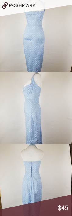 """Stop Staring  retro halter dress size S polka dot Length: 45""""  Armpit to Armpit: 14"""" Waist: 12"""" All of my items are from smoke and pet free household Please feel free leave me any questions about my items Stop Staring Dresses Midi"""