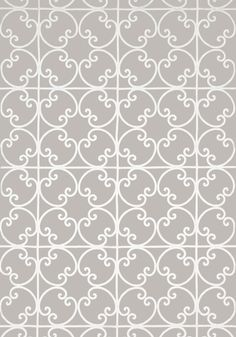 CERNOBBIA EMBROIDERY, Beige, W714202, Collection Imperial Garden from Thibaut