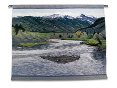 Laurie Gano Early Summer Portfolio: New Tapestries — Landscape Tapestry