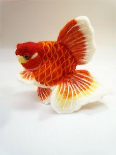 talkfishytome : Felt goldfish14 by ~demetyoubi