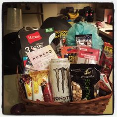 Easter basket for girlfriendboyfriend im so hoppy youre in my my homemade man basket negle