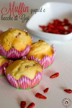 Muffin yogurt e bacche di goji