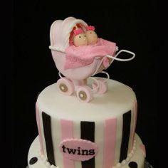 Gâteau des jumelles / Twins cake