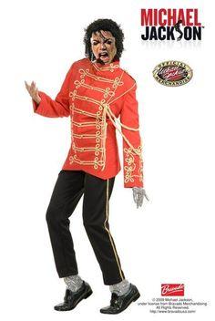 Michael Jackson Military Prince Red/Black