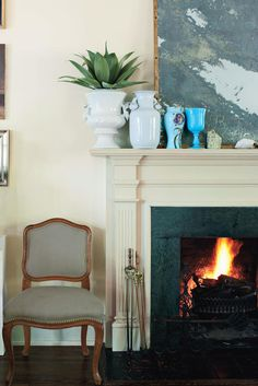 Neutral Fireplace |