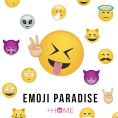 """Emoji Paradise""   All the best emoji have been used in this theme to transform your icons! Live in an emoji paradise!  Download Now:http://bit.ly/2qu9Hgp  #cute #wallpaper #kawaii #design #icon #plushome #homescreen #widget #deco"