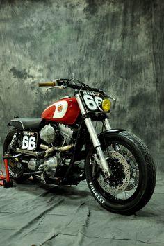 Harley Davidson Dyna Cafe Racer 1 #harleydavidsondyna