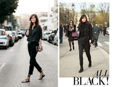 5 Rules For Mastering All Black
