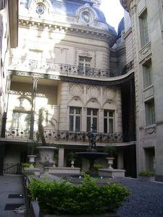 PALACIO SAN MARTIN- patio. Ciudad Autonoma de Buenos Aires, Argentina